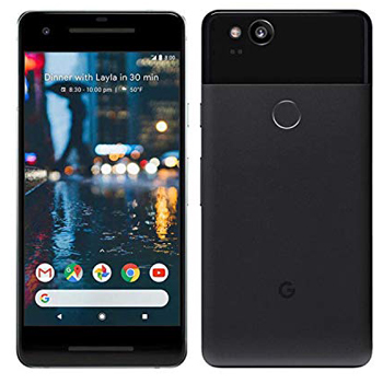 Google Pixel 2 64 GB, Black Factory Unlocked