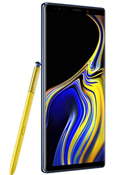 Samsung Galaxy Note 9, 128GB, Ocean Blue - Fully Unlocked