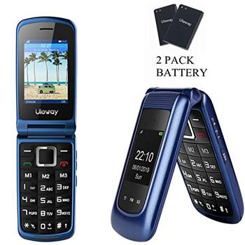 Uleway 3G Flip Phone Unlocked SOS Button