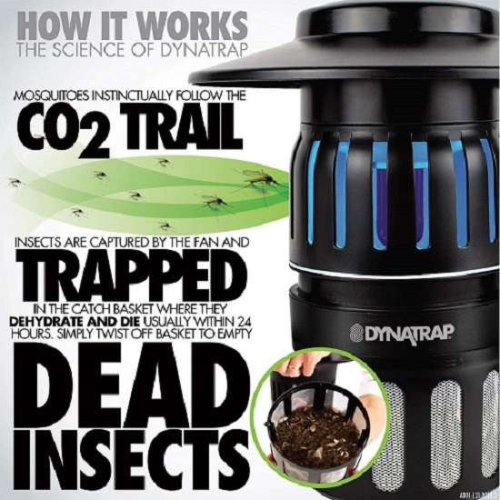 What Are User Saying About DynaTrap DT1775 Insect Trap AtraktaGlo