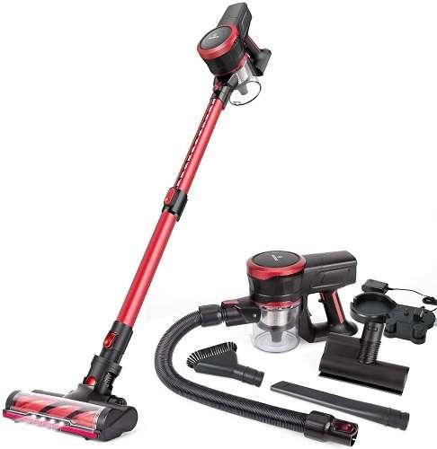 MOOSOO K17 Cordless Stick Vacuum Cleaner