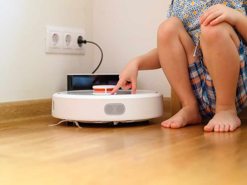 how do robot vacuums work