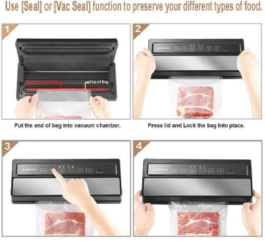 What Are Users Saying About Geryon Vacuum sealer machine